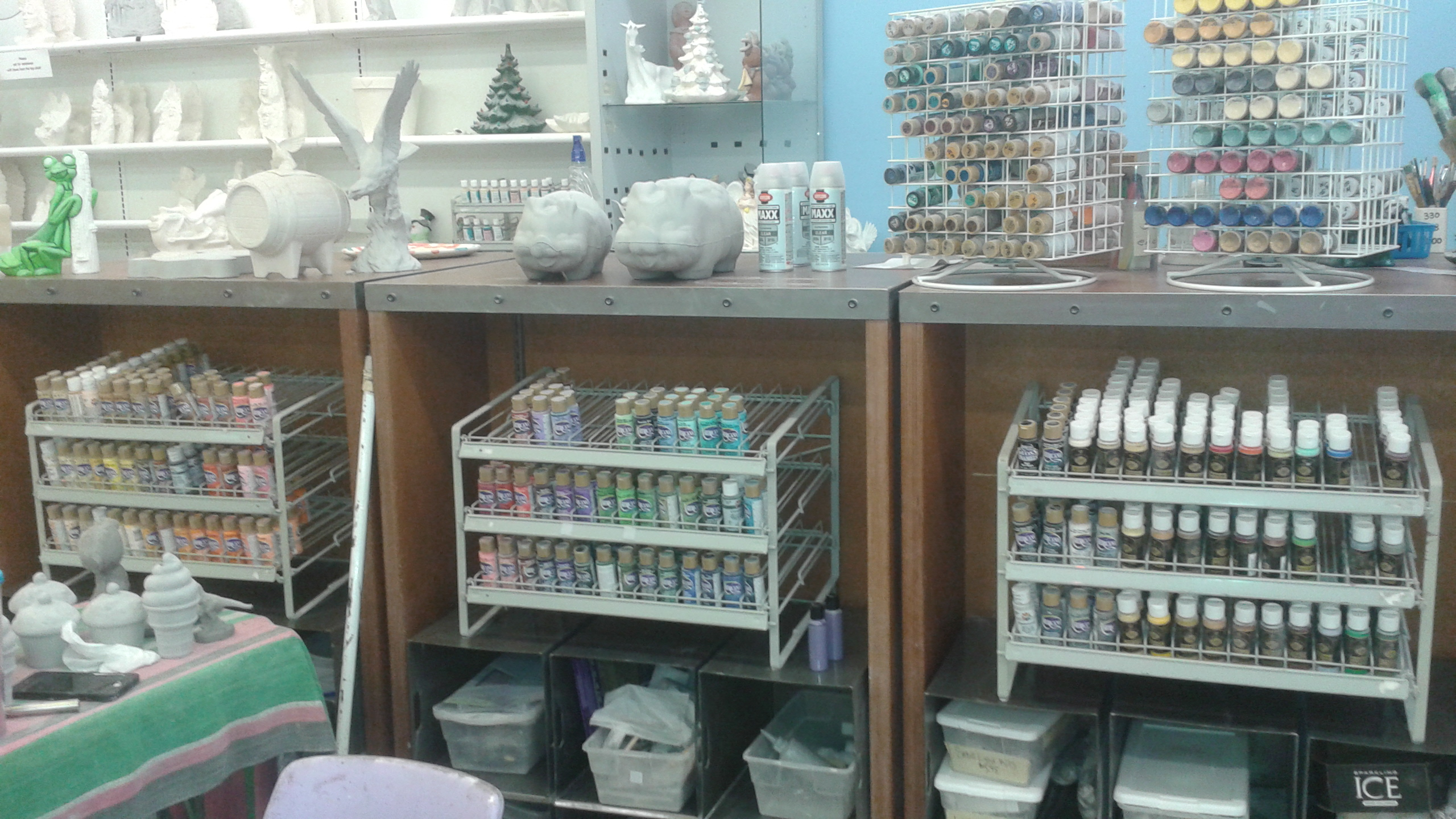 Our selection of paints for sale
