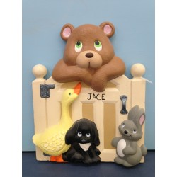 bear-fence-with-duck-and-bunny