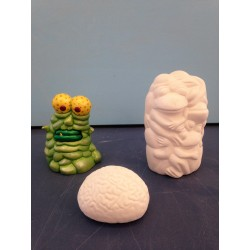 Slime Monster, Frogs and Brain