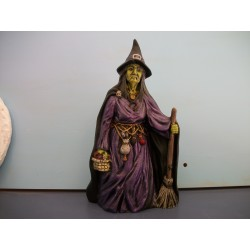 Witch with Apples