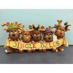 Reindeer Jingle Bells
