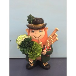 Leprechaun with Bag Pipes