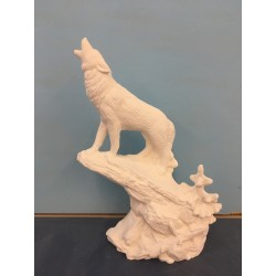 Wolf Howling on Ledge (WIL-41)