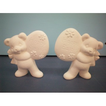 Bears with Egg Sign SET OF 2 (EAS-18)
