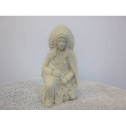 Indian Chief Kneeling (IND-65)