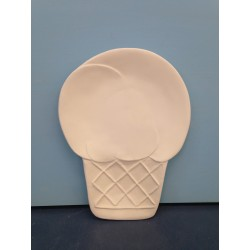 large-ice-cream-cone-plate
